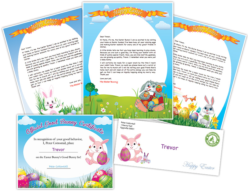 Free Printable Letter From The Easter Bunny