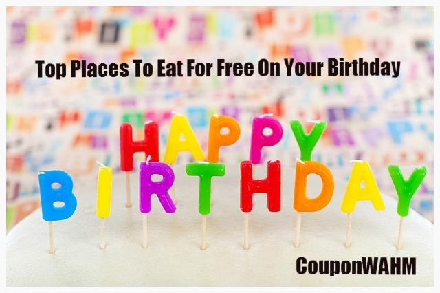 Top Places To Eat For Free On Your Birthday