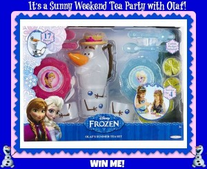 Enter to #win A Olaf's Summer Tea Set (ends 6/1) #giveaways