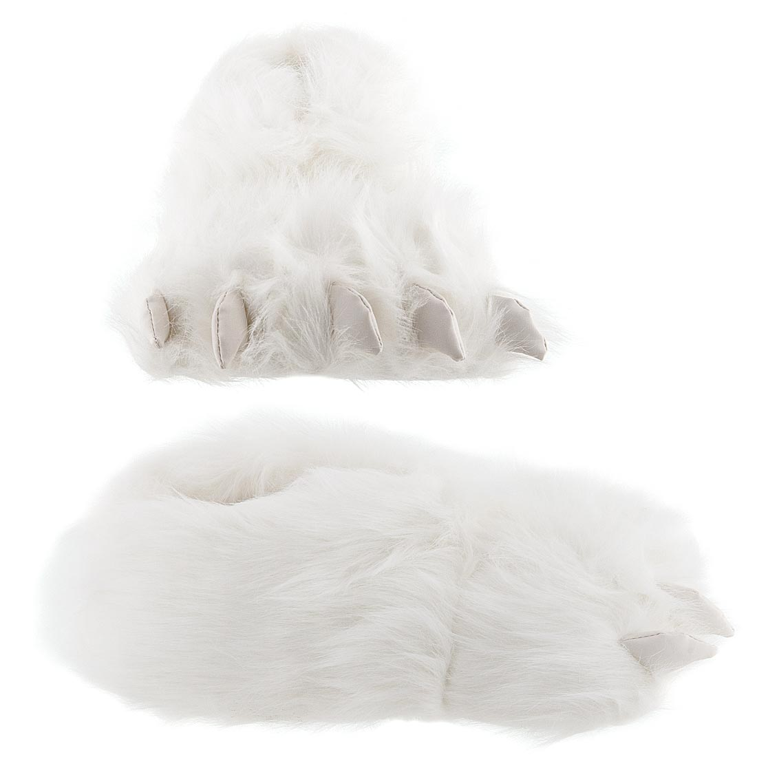 e526c5f687f1 Fuzzy Black Bear Paw Slippers for Men and Women · fuzzy slippers1