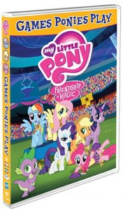 MY LITTLE PONY FRIENDSHIP IS MAGIC: GAMES PONIES PLAY HITS DVD SEPTEMBER 29!