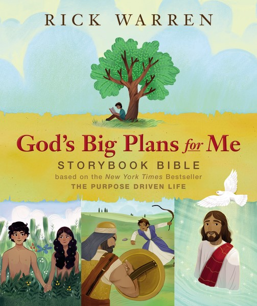 Kids learn what God has planned for their lives with #RickWarren God's Big Plans for Me StoryBook Bible  #FlyBy