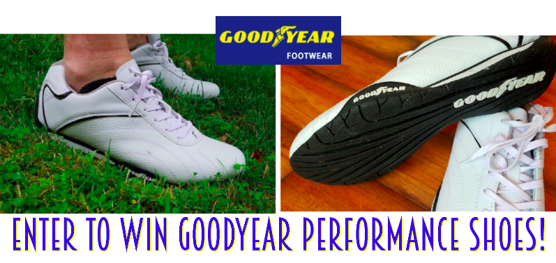 Enter for a chance to #win A pair of Goodyear Performance Shoes July 21st – July 30th #giveaways