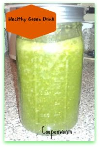 Get Healthy With A Healthy  Organic Green Tea Smoothie