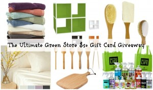 Enter to #win A $50 Ultimate Green Store Gift Card (ends 12/7/14) #giveaways
