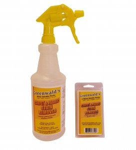 Greenwald's Carpet & Stain Remover Get's The Stains Out Fast #StainRemover