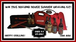 Enter to #win A Holland House Summer Grilling Kit (ends 9/7) #giveaways