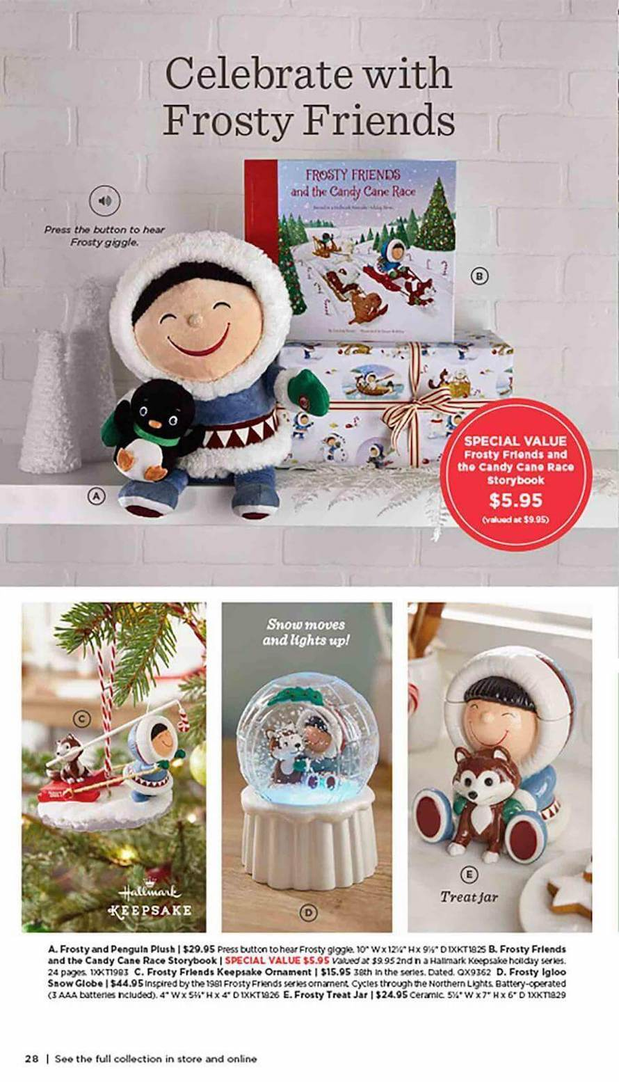 2017 Hallmark Holiday Catalog