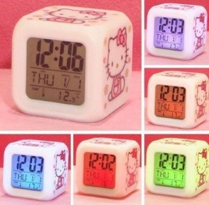 Amazon:Hello Kitty Alarm Clock $5.01 Shipped