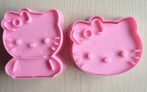 #Amazon: Pink Hello Kitty Cookie Cutter/Cake Mold $2.69 Shipped
