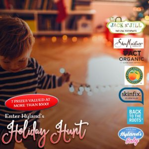 Enter Hylands Holiday Hunt for a chance to win $500 in prizes