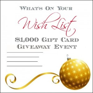 Bloggers Needed:What's On Your Wish List Event