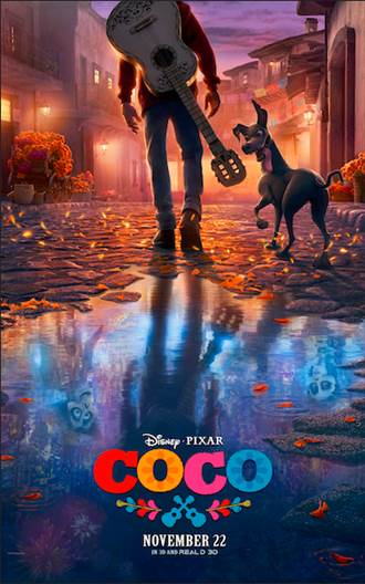 Disney•Pixar's #Coco  opens in theaters everywhere on November 22nd!