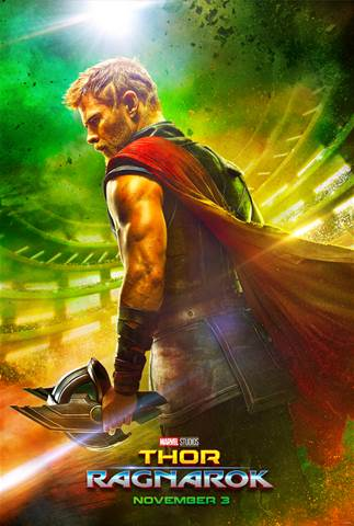 #ThorRagnarok opens in theaters everywhere November 3rd