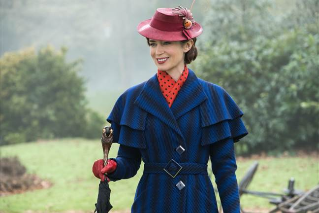 MARY POPPINS RETURNS – Now Playing in Theatres Everywhere + Coloring Sheets