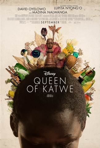 #QueenOfKatwe opens in theaters on September 23rd!
