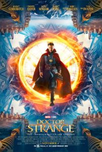 #DoctorStrange  is in theaters everywhere on November 4th!