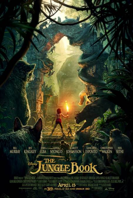 Disney's THE JUNGLE BOOK Hits Theaters April 15th #JungleBook