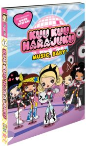 GWEN STEFANI'S ANIMATED SERIES THE SUPER KAWAII KUU KUU HARAJUKU: MUSIC, BABY! HEADS TO DVD JUNE 13, 2017