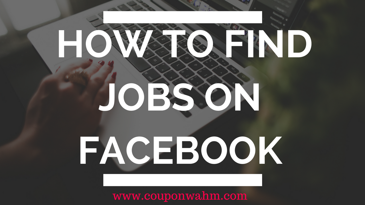 How To Find Jobs on Facebook