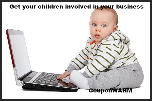 Get your children involved in your business