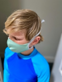 Helping Kids to Wear Face Masks Safely