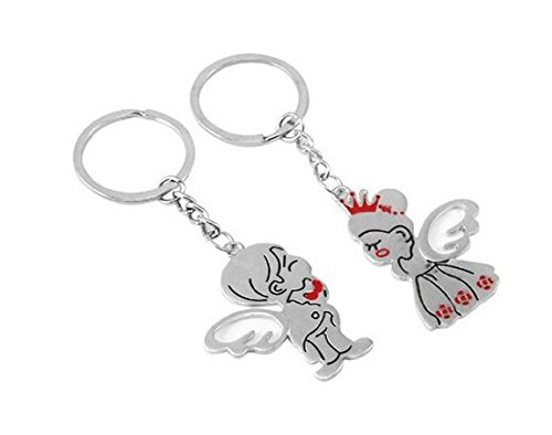 Angel Kiss Couple Metal Magnetic Keychain & Keyring Just $3.85 Shipped