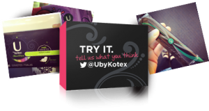 Free: Tampax and Kotex Samples