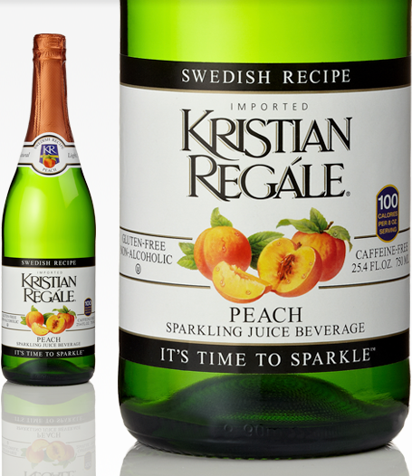 Make any occasion special with Kristian Regale Natural Sparkling Beverages #HolidayGiftGuides