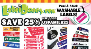 Save 25% on Label Daddy labels!