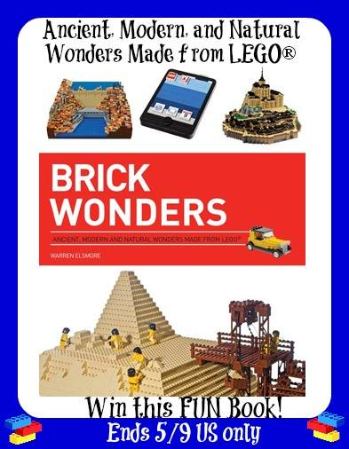 Enter to win A Brick Wonders Lego Book (ends 5/9) #giveaways