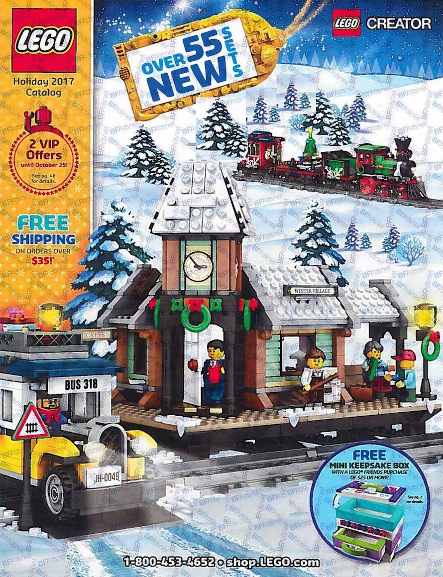 2017 Lego Toy Catalog