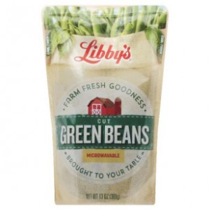 Libby's Green Beans $0.54 at Target Stores