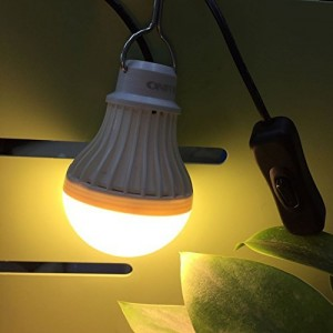 The Camplight Bulb Emergency Light Is Great For Everything  #reviews