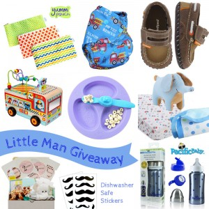 Enter to win the @GreenSceneMom #LittleManGiveaway featuring $260 in summer essentials (ends 8/8/)