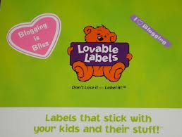Review:Back to School With Lovable Labels