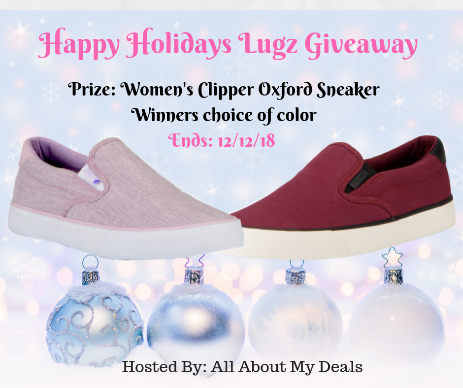Enter for a chance to #win A pair of  Woman's Lugz Clipper Oxford Sneaker( winners choice of color) #giveaways (Ends 12/12/18)