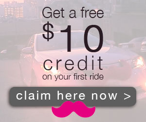 Get A Free $10 Credit On Your First Ride from Lyft