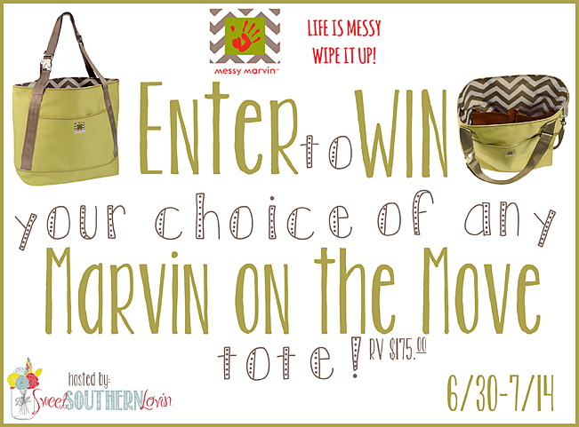 Enter to #win A Marvin on the Move Tote (ends 7/14) #giveaways