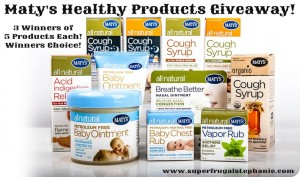 Enter to #win in the  Maty's Healthy Products #giveaway #lovematys