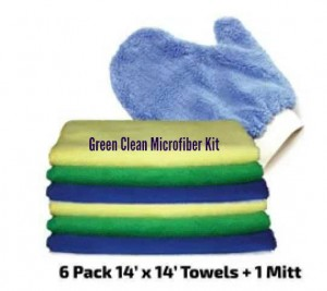 Green Clean Microfiber Kit Review