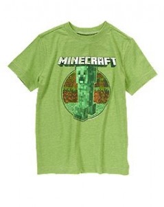 Get Minecraft T-Shirts for just  $14.88 @Crazy8