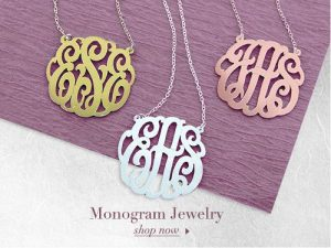 monogram jewelry review
