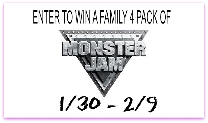 monster jam GIVEAWAY