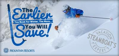 Save Up to 35% off lodging At Mountain Resorts