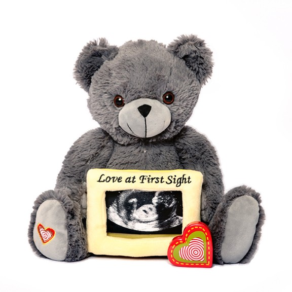 My Baby's Heartbeat Bear Captures Precious Pregnacy Moments #reviews #holidaygiftguide