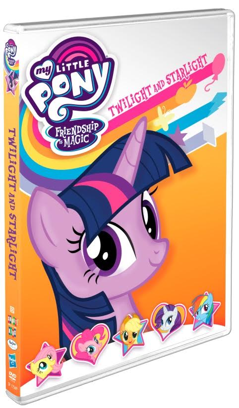 My Little Pony – Friendship Is Magic: Twilight and Starlight is coming to DVD on May 30
