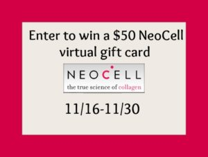 Enter For A Chance To Win A  $50 @NeoCell Virtual Gift Card + More #giveaways