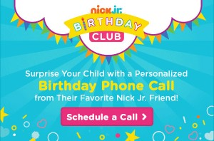#FREE Get a Personalized Birthday Phone Call from the Nick Jr. Friends!