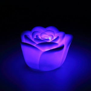 7 Colors Changing Rose  Night Light $1.58 Shipped On Amazon